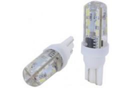 T10  24 LED' Lİ DİPSİZ ÇAKARLI AMPUL BEY