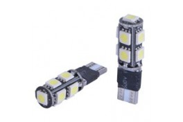 T10  9 LED' Lİ ÇAKARLI DİPSİZ AMPUL BEYA